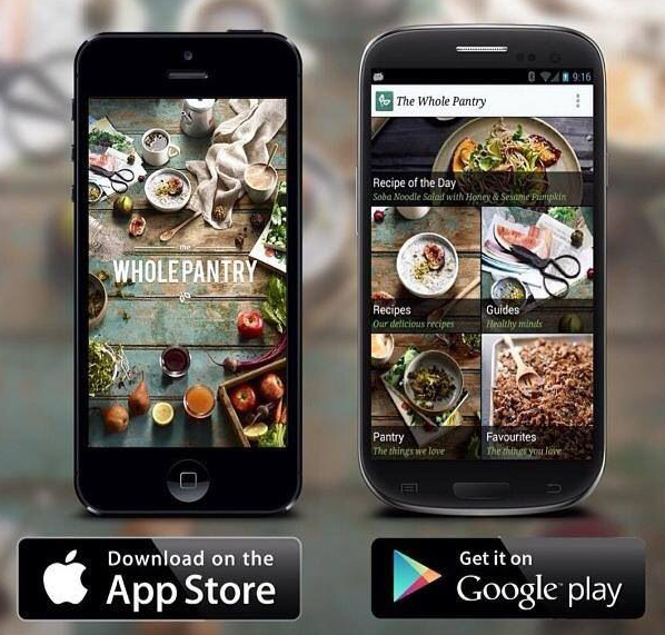 The Whole Pantry App