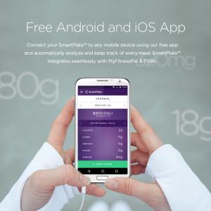 SmartPlate, l'application pour iOS ou Android